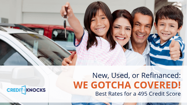 495 car loan rate auto loan interest rate with 495 credit score car loan rate