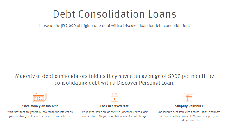 discover personal loans review debt consolidation loans