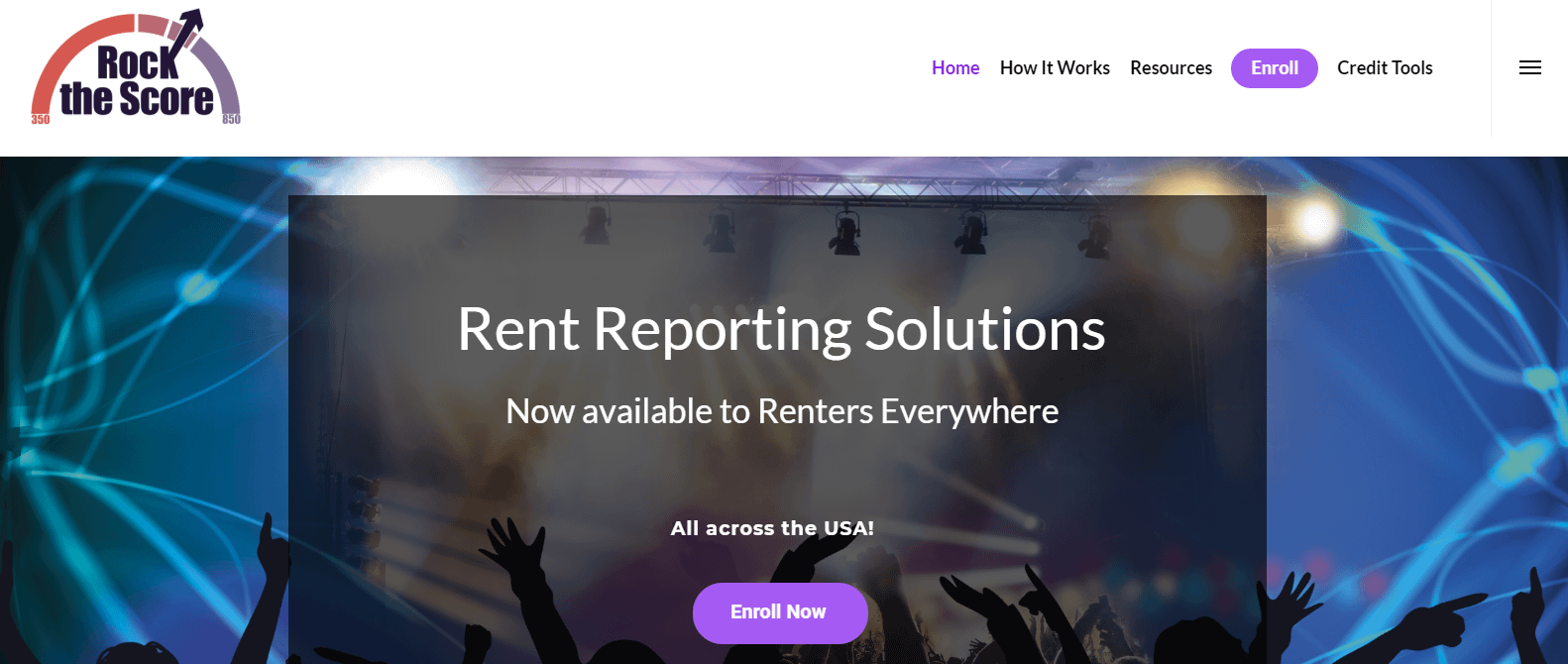 rock the score rent reporting