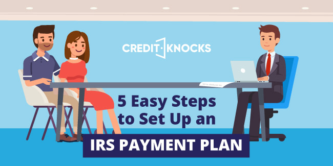 set up payment plan with IRS