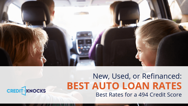 494 auto loan rate car loan interest rate with 494 credit score auto loan rate