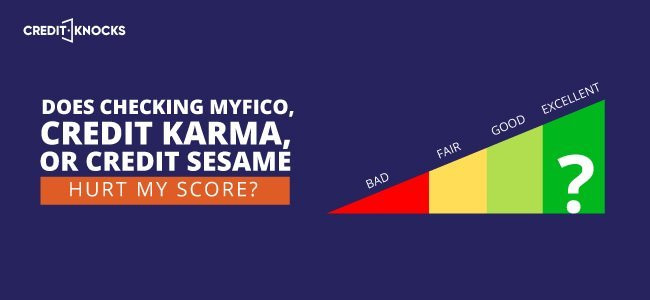 safely check credit score with myFICO credit karma credit sesame