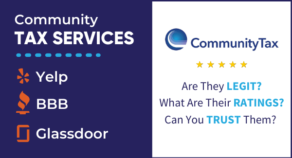 Community Tax Services Ratings in Yelp BBB and Glassdoor