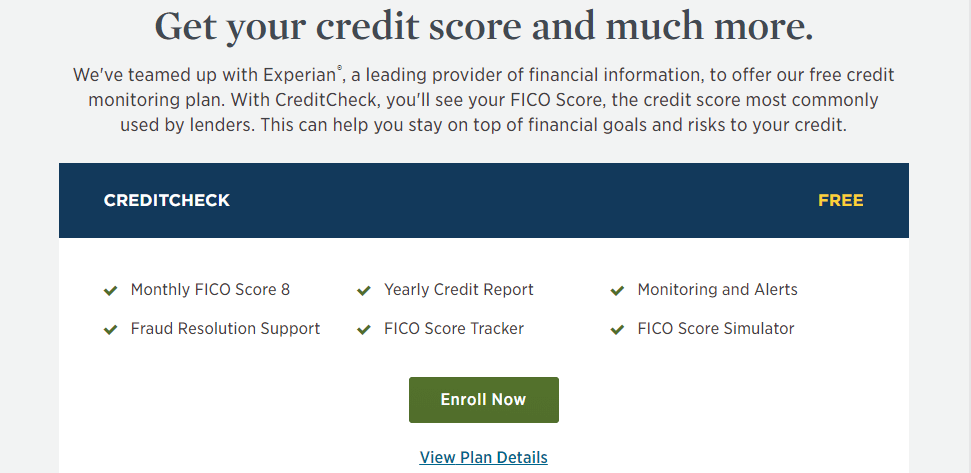 usaa score and more