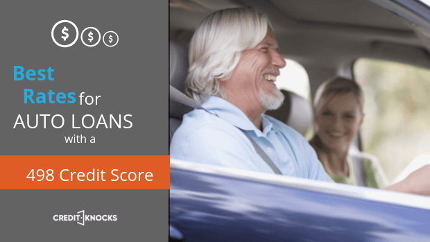 498 auto loan rate car loan interest rate with 498 credit score auto loan rate