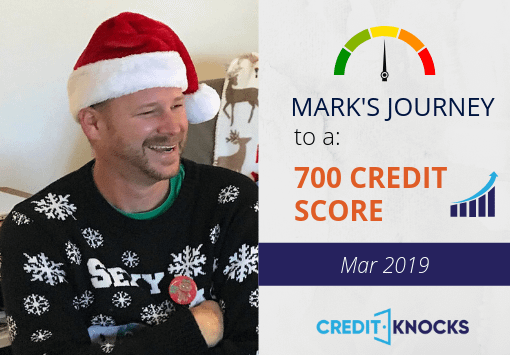 My Credit Journey to 700 - March 2019