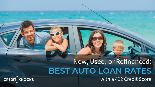 492 auto loan rate car loan interest rate with 492 credit score auto loan rate