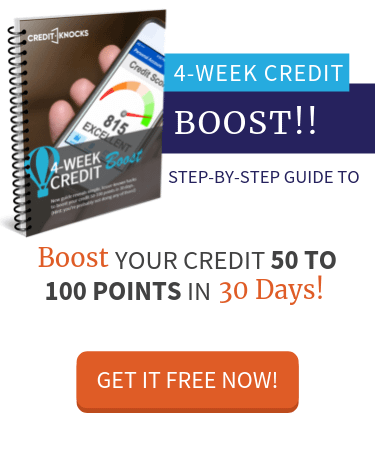 4 Week Credit Boost Ebook