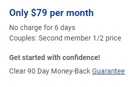 blue sky credit repair review cost couples discount 90 day money back guarantee