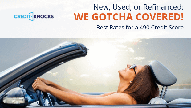 490 auto loan rate car loan interest rate with 490 credit score auto loan rate