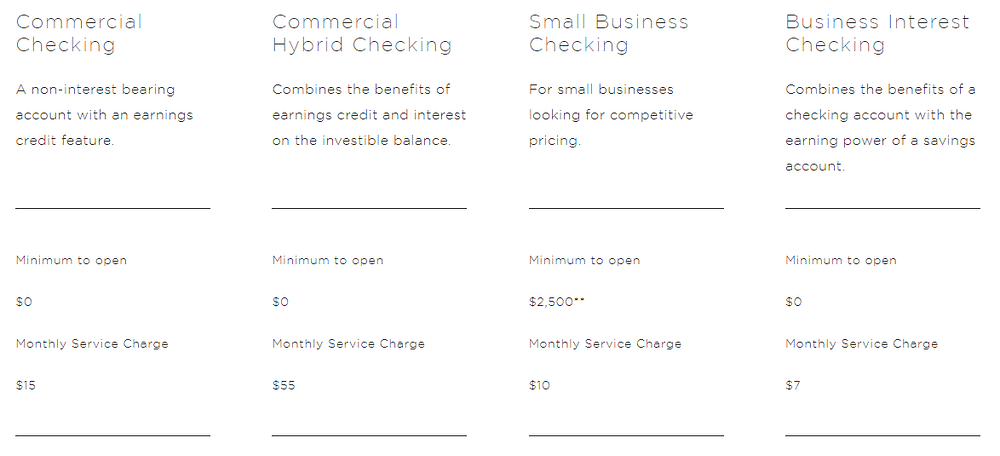 chemical bank small business checking account, chemical bank business services