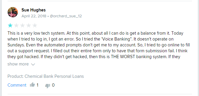 chemical bank review