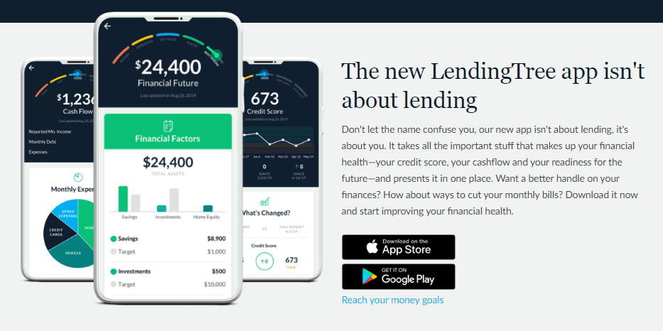 lendingtree auto loan review mobile app apple store google play