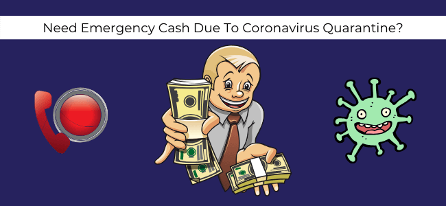coronavirus quarantine shelter in place lock down slow down CORONAVIRUS ECONOMIC SLOW DOWN CASH FLOW SAVE MONEY LOWER EXPENSES