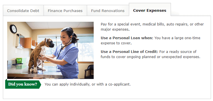wells fargo personal loans review uses of personal loan or personal line of credit to cover expenses unexpected emergencies medical bills auto repair