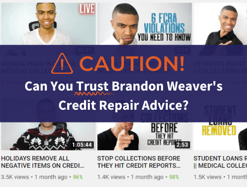 Brandon Weaver Credit Repair Advice