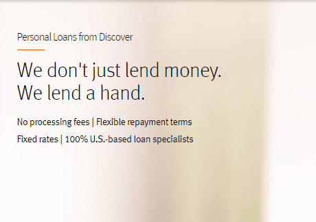 personal loans from discover no processing fee fixed rates