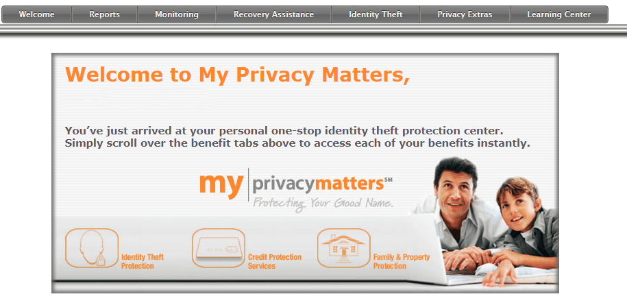 welcome my privacy matters