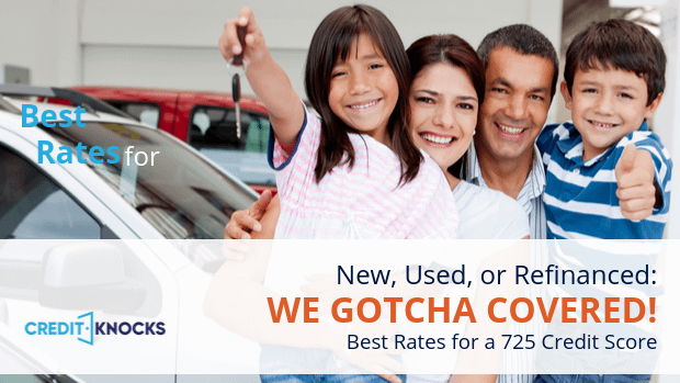 725 car loan rate auto loan interest rate with 725 credit score car loan rate