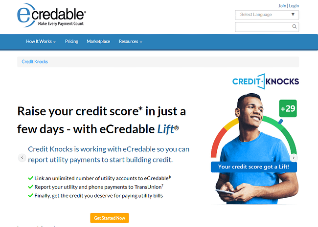 eCredable Lift - Alternative to Experian Boost