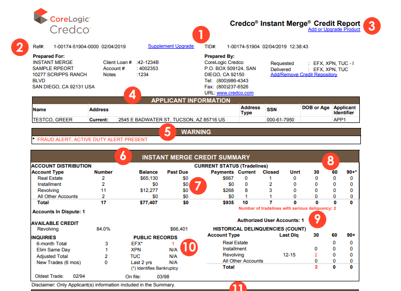 CoreLogic_Credco_Sample_Instant_Merge_Credit_Report_for_Mortgage