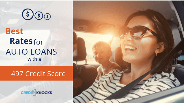 497 car loan rate auto loan interest rate with 497 credit score car loan rate
